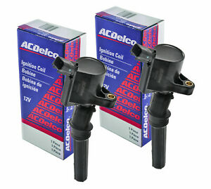 SET (2) NEW OEM ACDELCO GM IGNITION COIL  4.6L 5.4L Ford Lincoln Mercury BS2002
