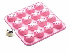 16 x Pigs silicones base Chocolate Cookie Mould Baking Ice Cube Jelly Cake