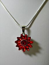 Fits Ginger Snap Valentine Rhinestones Interchangeable Snap Charm Necklace N 679