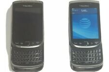 Two AT&T BlackBerry Torch 9810 65261 Keyboard Slide Phone Touch Screen 3G WIFI
