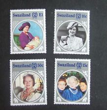 Swaziland 1985 85th Birthday Queen Mother  MNH UM unmounted mint