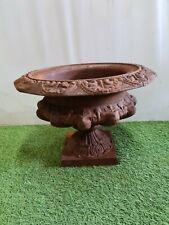 vase médicis en fonte / décoration de jardin  / 29 cms de haut