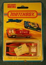 Vintage 1975 Matchbox Streakers #27 Lamborghini Countach Orange NIP