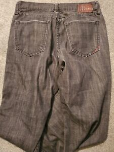 Banana Republic 078 Boot Fit Black Faded Wash Cotton Jeans Size 31 x 30