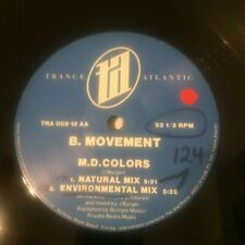 "TECH HOUSE CLASSIC - B. Movement ‎– Natural Elements  Vinyl 12"" Germany 1991 VG+"