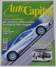 AUTOCAPITAL 7/1993 MC LAREN F1 – FERRARI 456 GT / 330 GT 2+2 – DAIMLER SP 250