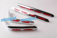 Hinten Satteltasche Trimm Dekor Satz Chrom für Honda Goldwing GL1800 2001-2011