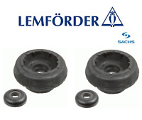 OE 2X VW SHARAN CADDY GOLF III FRONT STRUT TOP MOUNTS & BEARINGS LEMFORDER SACHS