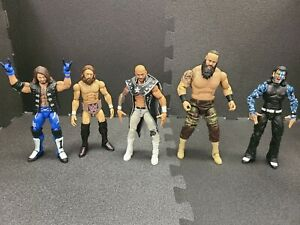 WWE Elite 10 Action Figure LOT Mattel WCW Wrestling Toys AEW WWF Collection