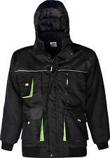 Triuso Winter Jacke Arbeitsjacke schwarz Power wind- und wasserabweisend
