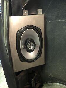 1972-1993 Dodge Truck Cab Corner 6x9 Speaker Brackets