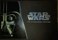 STAR WARS TRILOGY THX WIDESCREEN VHS COLLECTOR'S EDITION-VINTAGE