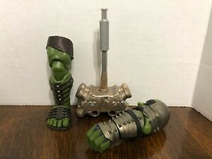 Hulk Gladiator Right Leg Left Arm Hammer BAF Marvel Legends