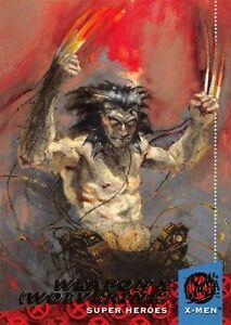 WEAPON X - WOLVERINE / X-Men Fleer Ultra 1994 BASE Trading Card #43