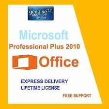Original Office Professionnel Plus 2010 32/64BIT Clé de licence-Scrap PC