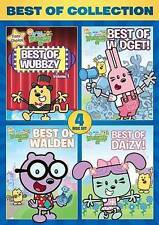 WUBBZY BEST OF COLLECTION New Sealed 4 DVD Set 28 Episodes Wow Wow