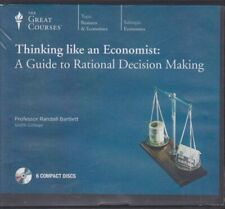 THINKING LIKE AN ECONOMIST by THE GREAT COURSES ~6 CD'S + 12 LECTURES