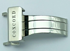 Concord Stainless Steel Deployant Buckle - 18mm
