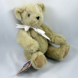 Vermont Teddy Bear Company Plush Stuffed Jointed 1997 Great American