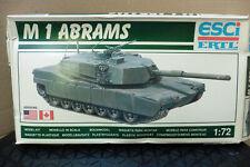 ESCI 1/72 US / CANADA M1 ABRAMS TANK  MODEL KIT BOXED ERTL