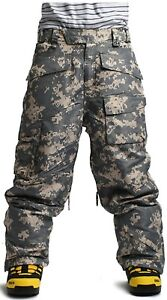 Top Quality SOUTH PLAY Mens Ski Snowboard Waterproof Snow Sports Pants Trousers