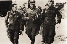 WW2 - Chefs SS en Normandie juin 1944: Kurt Meyer, Fritz Witt et Max Wünsche
