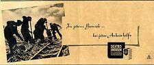 DEXTRO ENERGEN Energiespender ...bei jeder Arbeit.  Historische Reklame von 1941