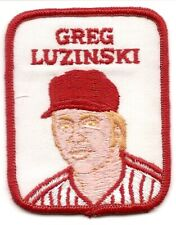 GREG LUZINSKI 1979 Vintage Penn Emblem Baseball Patch Phillies-Chicago White Sox