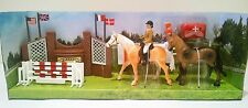 Show Jumping Toy Riding Academy Horse Play Set NEW
