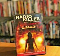 Radio Killer 2 - Fine Della Corsa (2008) UNRATED DVD Horror Fuori Catalogo RARO