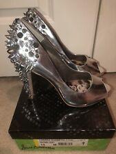 Sam Edelman Silver   Lorissa Pumps Size 10.        Must See, BNIB With Scratches