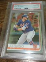 PETE ALONSO - 2019 TOPPS CHROME - #204 - ROOKIE - PSA 10 GEM MINT - METS -