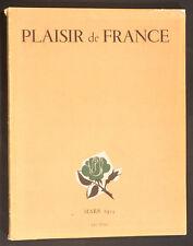 'PLAISIR DE FRANCE' FRENCH VINTAGE MAGAZINE MARCH 1954