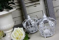 Markenlose Deko-Kerzenständer & -Teelichthalter im Landhaus-Stil aus Metall