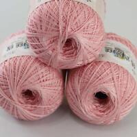 AIP Thread No.8 Cotton Crochet Yarn Craft Tatting Hand Knit Wholesale 50gX3 #18