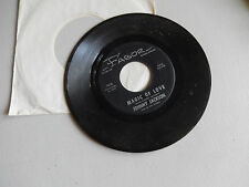 JOHNNY JACKSON gone away party / magic of love  FABOR  45