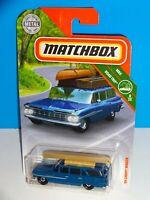 Matchbox 2019 MBX Road Trip #10 '59 Chevy Wagon Blue