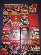 HUGE Arsenal DVD Lot - X16 - RARE - Some still new and sealed - UK