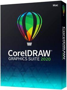 CorelDRAW Graphics Suite 2020 Graphic Design, Photo and Vector Illustration MAC