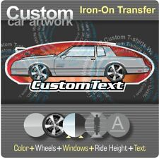 Custom Iron-On Transfer for T-Shirt 87 1987 1988 Chevy Chevrolet Monte Carlo SS
