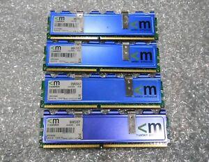 Mushkin Enhanced 8GB (4 x 2GB) DDR2 PC2-6400 800MHz  RAM NON-ECC 996587 HP2-6400