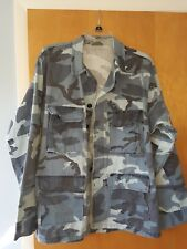 Army Shirt blue camouflage Medium