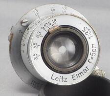 Leica Leitz Elmar 50mm 5cm f3.5 - # 543193 - Built 1940