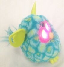 "Plush Blue Green Spotted Tiger Hasbro Lighted Moving Talking 6"" Furby"