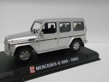 MERCEDES-BENZ CLASE G G500 W463 SILVER 1993 AUTOPLUS HACHETTE IXO 1/43
