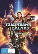 GUARDIANS OF THE GALAXY VOL 2 DVD-NEW/SEALED-REG 4-FAST FREE POST 👍