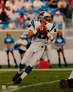 JAKE DELHOMME Carolina Panthers 8X10 ACTION PHOTO White Jersey