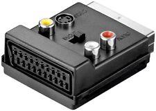 SCART a video compuesto y S-video adaptador, in/out, con SCART por conducción, SC