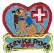 Girl Boy Cub Disabled SERVICE DOGS blind Fun Patches Crests Badges SCOUTS GUIDES