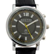 Acctim Radio Controlled Atomic Mens Watch NERO Analog 60213